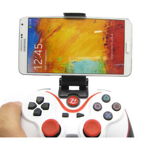 Universal Mobile Phone Clamp Gamepad Clip Mount Holder For PS3 Controller