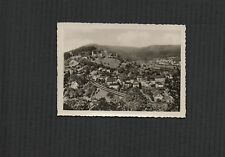 Hirschhorn  Germany.  view of castle from railway photograph  zd36