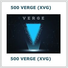 500 Verge(XVG) - Crypto MINING-CONTRACT - 500 (XVG), Crypto Currency