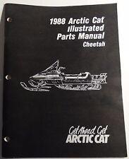 1988 ARCTIC CAT CHEETAH  SNOWMOBILE  PARTS  MANUAL P/N 2254-450  (907)