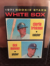 1971 Topps # 13 White Sox Rookie Stars... EX-MT+/NM *..  Dick Moloney... RB-4023