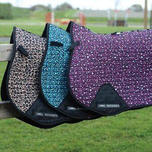 Weatherbeeta Prime LEOPARD Jump GP Dressage Saddle Pad Cloth Matchy Limited Edit