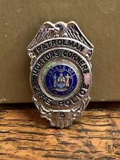 Vintage Fire  Police Patrolman MORTONS CORNERS Badge # 5 OBSOLETE