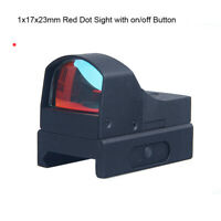 3MOA 1X22 Mini Reflex Red Dot Sight Compact Holographic Scope for Airsoft