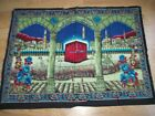 PRINT - WALL CARPET WITH KABAK PICTURE - 90X121 CM  good condition and solid