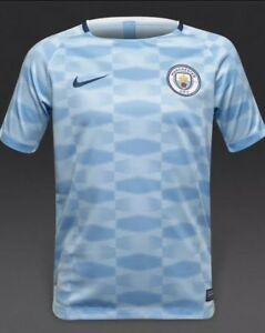 Nike Manchester City Squad Shirt XL 13-15 Years 854854-488