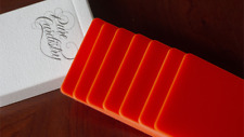 Pure Cardistry Orange Training Playing Cards 7 Plastic Packets Learn Flourishing
