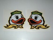 NCAA OREGON DUCKS FULL SIZE FOOTBALL DECALS