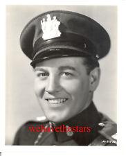 Vintage John King QUITE HANDSOME SEXY '38 STATE POLICE Publicity Portrait