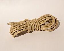 Gewichtsseil Seil für Comtoise Uhren oder kleine Turmuhr, 4 mm, geflochten natur