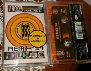Musicassetta 883 remix 94 cassetta mc nuova sigillata da collezione mint rara
