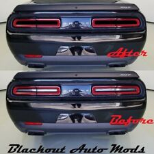 Dodge Challenger Tail Light Blackout Kit Vinyl Overlay SRT Hellcat