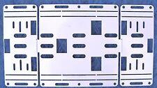 100 Retrofit Kit Plate for 8' 2 Bulb T12 Light Strip To T8 4 Tube LED Fixture