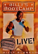 Billy's BootCamp Live!  Cardio Workout DVD with Billy Blanks !!!