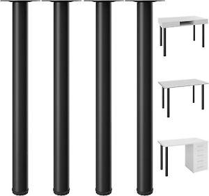 "28"" Heavy Duty Table Legs Adjustable Kitchen Coffee Table Metal Furniture Legs"