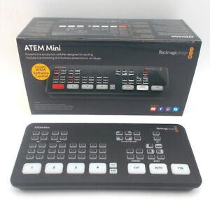 Blackmagic Design ATEM Mini - sofort lieferbar!