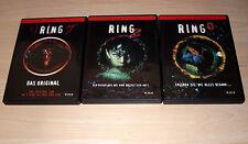 3 DVDs - Ring - Trilogie - alle 3 Teile : Das Original, Ring 2, Ring 0