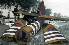 Escala 1/35 Horsa Planeador alas y parte trasera del fuselaje (cola) Modelo Kit por Bronco Models