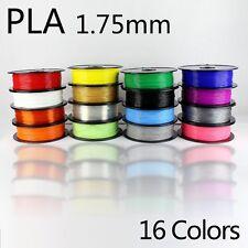Filamento PLA 1,75mm per Stampante 3D. Bobina 500g. Diamond Grade. Vari colori.