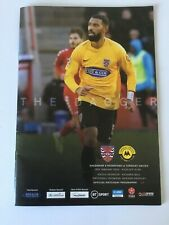 DAGENHAM & REDBRIDGE v TORQUAY UNITED  Programme 4th January 2020