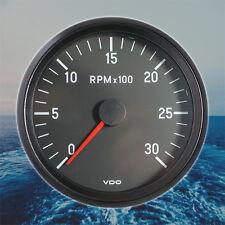VDO Cockpit International Drehzahlmesser Anzeige 3000 RPM 100mm 12V 333-055-001G