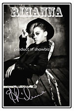 RIHANNA LARGE SIGNED POSTER - LOOKS GREAT FRAMED - GET YOURS NOW
