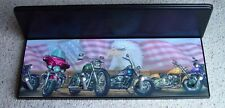 harley davidson motorcycles wall shelf coat rack black pegs