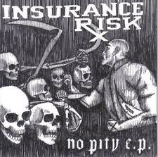 "Insurance Risk - No Pity 7"" ONWARD FLOORPUNCH SSD NEGATIVE APPROACH"