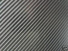 1M x 750MM ROLL 4D CARBON FIBRE VINYL BUBBLE FREE WRAP STICKY BACK PLASTIC