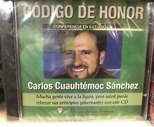Codigo de Honor by Carlos Cuauhtemoc Sanchez (CD) CONFERENCIA