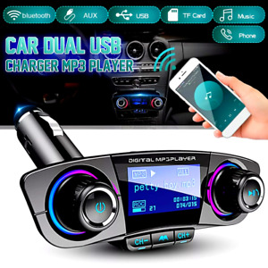 Universal Cargador De Reproductores Para Carro Reproductor Con Bluetooth MP3 USB