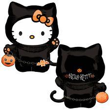 """30"""" Halloween HELLO KITTY Cat Character Costume Foil Supershape Balloon"""