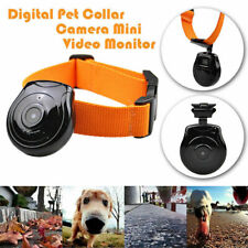 Pet Video Recorder Cam Collar Eye View Monitor Camera for Dog Cat Puppy Animals