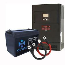 EFFEKTA AX-M1 48V Hybrid Wechselrichter mit 50Ah bis 200Ah Speicher LiFePo4 Akku