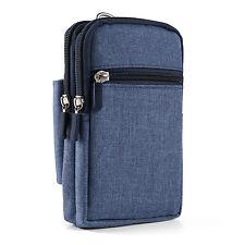 "5.5"" Sleeve Case Bag Belt Clip Holster Wallet Purse For iPhone 7 Plus / LG G6"