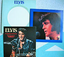 ELVIS PRESLEY LEGENDARY PERFORMER VOL2 LP W BOOKLET 1976 RCA Records CPL 1-1349