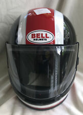 BELL VINTAGE GT-2 RED WHITE BLACK HELMET 7 1/4 NOS
