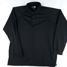 CornerStone Shirt Mens Extra Large Black Tactical Snag Proof Workmans Clothing