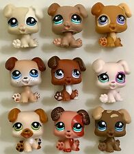 ✨Littlest Pet Shop Lot✨ 9 RARE & HTF Boxer Puppies Incl. Sparkle #2235