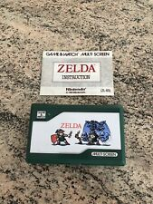Nintendo Zelda Game And Watch (ZL-65) 1980 Multi Screen Console