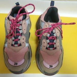 Balenciaga Triple S - Women's Size 39 - Pink