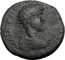 COMMODUS 177AD Thessalonica Macedonia Nike Authentic Ancient Roman Coin i55865