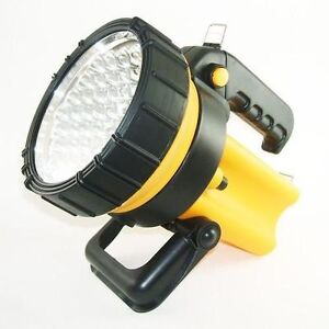NEW RECHARGEABLE 37 LED LANTERN SPOTLIGHT TORCH FLASHLIGHT EMERGENCY WORK LIGHT
