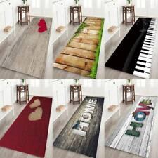 Non-slip 3D Print Thick Flannel Door Mat Kitchen Floor Mat Bath Area Rug Carpet