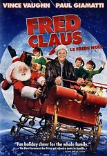 NEW CHRISTMAS  DVD // FRED CLAUS // Vince Vaughn, Paul Giamatti, John Michael Hi