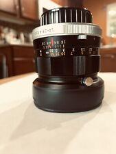 Olympus Auto-S 50mm F1.4 M42 Lens