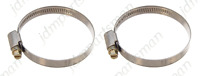 Narrow Band 9mm Steel Hose Clamp 40-60mm - Made in Germany Pk of 2   HC4060/9