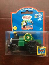 "Thomas & Friends Wooden Railway ""Trevor"" Including Collector Card from 2003"