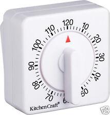 Kitchen Craft vent mécanique jusqu' à 120 minutes Cuisine Cuisson minuterie KCTIM2HR