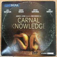 CARNAL KNOWLEDGE Jack Nicholson Art Garfunkel Candice Bergen Ann-Margret R2 DVD